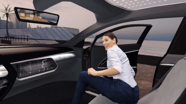 VR Experience Volkswagen Virtual Reality VW I.D. Cross
