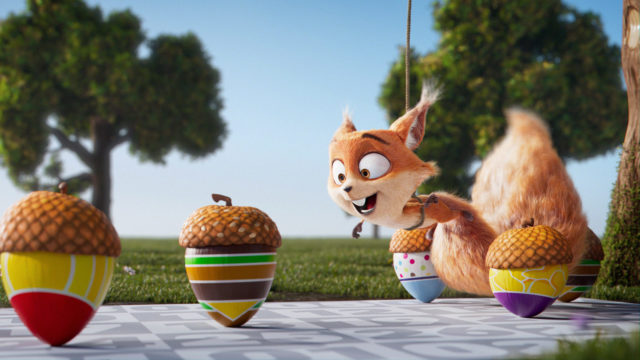 mcdonalds Herbstkalender cgi character animation