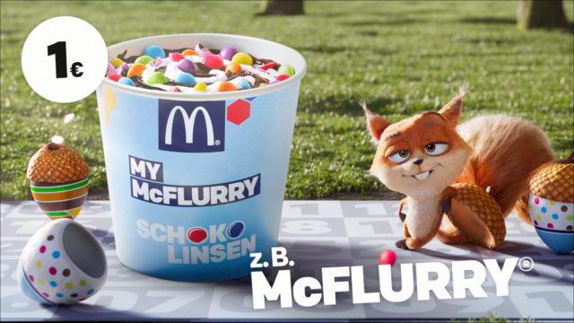 mcdonalds Herbstkalender cgi character animation