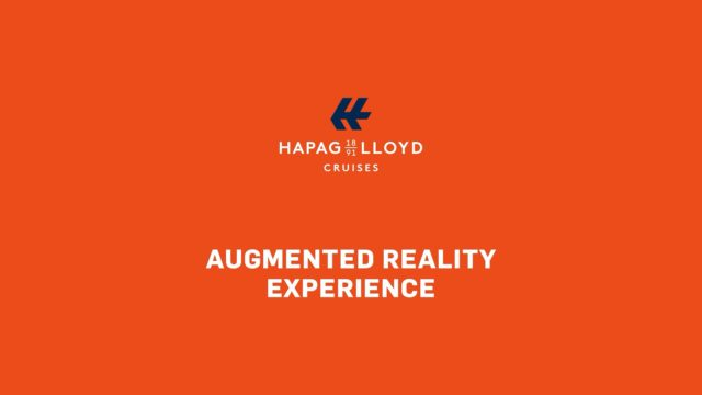 Hapag Lloyd Cruises hanseatic-augmented-reality-experience-ar