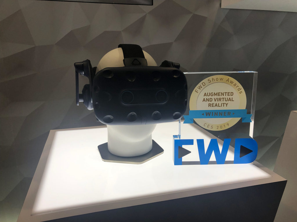 Review: Las Vegas CES 2019 vive pro eye