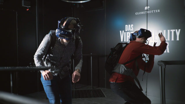 Globetrotter, VR, Virtual, Testing, Hyper Reality