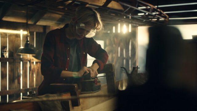 Handwerker Frau